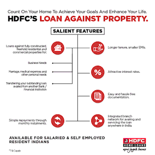 Count On Your Home To Achieve Your Goals And Enhance Your Life - HDFC Loan Against Property